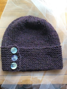 A stylish beginner hat.