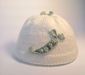 This is an adorable hat for a newborn.