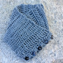 "Crocheted ""Sampler"" Cowl"