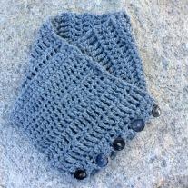 """Crocheted """"Sampler"""" Cowl"""