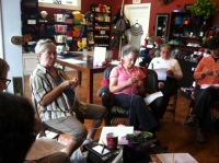 Knitting breast prostheses for cancer survivors.