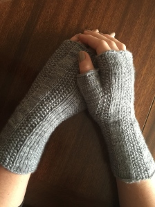 Unisex Fingerless Mitts