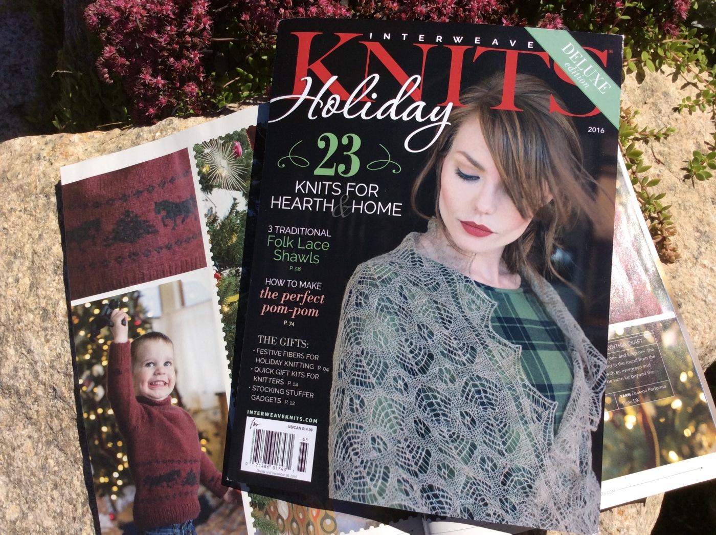 Interweave Holiday Knits 2016